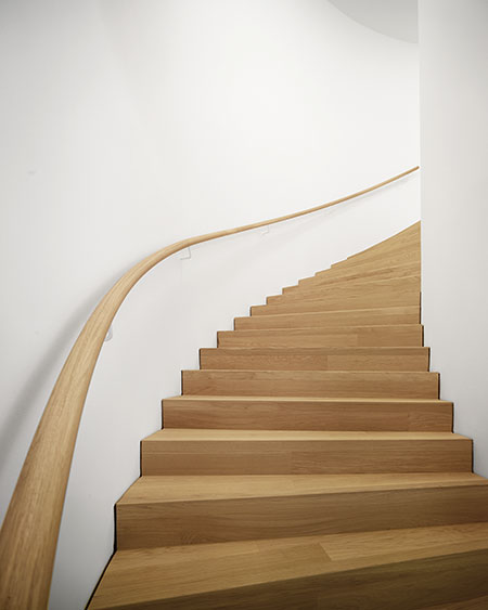 Hilti Art Foundation: Treppe